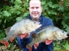 Huge Brace of Thames Perch